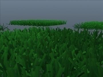 astroturf grass set 001 3d model 3ds max obj 103049