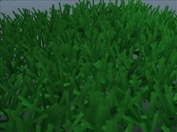 astroturf grass set 001 3d model 3ds max obj 103050