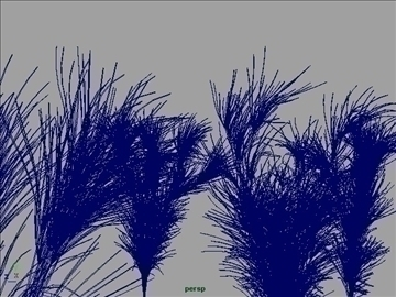 cactus grass set 001 3d model 3ds max obj 103057