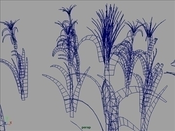 corn plant set 001 3d model 3ds max obj 103191