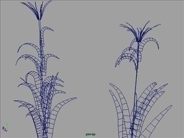 corn silk grass set 001 3d model 3ds max obj 103062