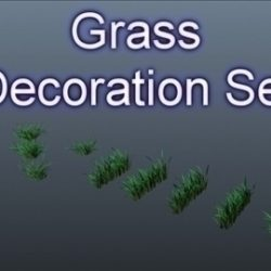 Grass Decor Set 001 ( 54.63KB jpg by Asephei )