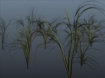 jungle grass set 001 3d model 3ds max obj 103111