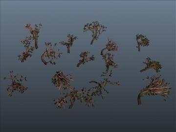 leafy bramble set 001 3d model 3ds max obj 103176