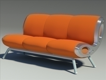 gluon sofa 3 pillow 3d model max fbx obj 91193