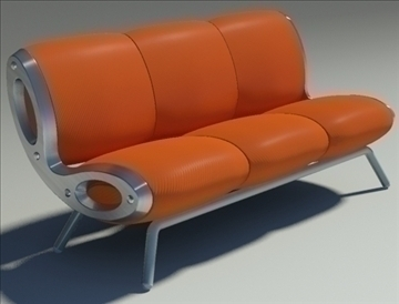 gluon sofa 3 pillow 3d model max fbx obj 91194
