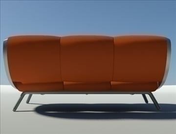 gluon sofa 3 pillow 3d model max fbx obj 91196