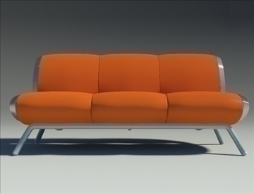 gluon sofa 3 pillow 3d model max fbx obj 91197