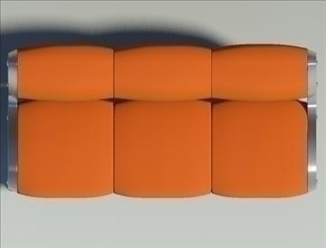 gluon sofa 3 pillow 3d model max fbx obj 91198