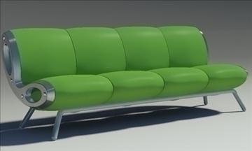 gluon sofa 4 pillow 3d model max fbx obj 91201