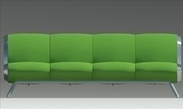 gluon sofa 4 pillow 3d model max fbx obj 91202