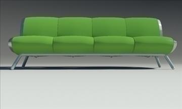 gluon sofa 4 pillow 3d model max fbx obj 91203