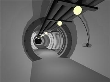 tuneļi x 3 3d modelis 3ds 80496
