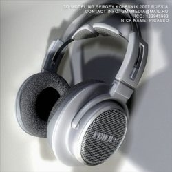 Head Phones Philips ( 86.56KB jpg by sergey_kolesnik )