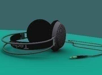 headphones 3d model max 77286
