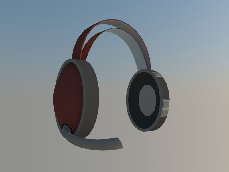 headset 3d model 3ds dxf dwg skp obj 118523