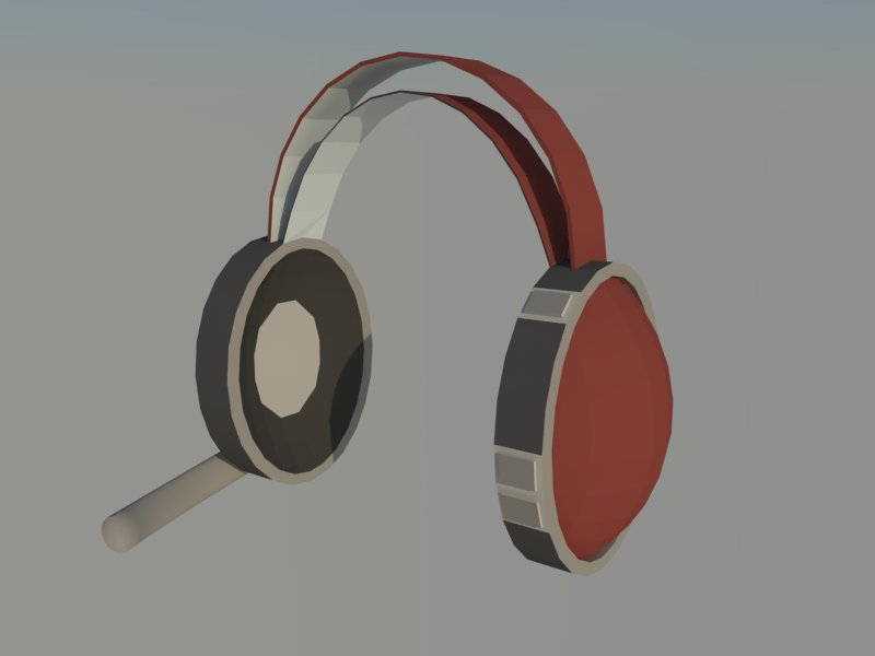 headset 3d model 3ds dxf dwg skp obj 118524