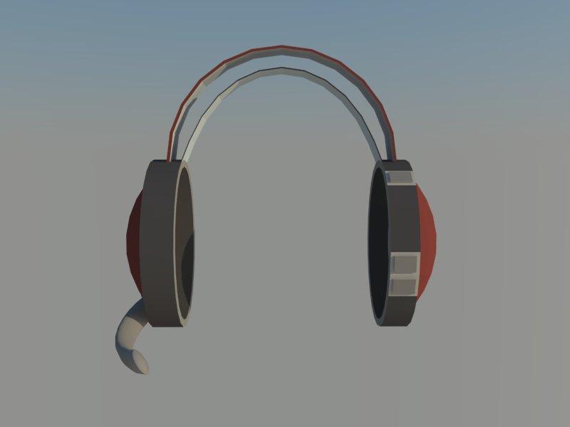 headset 3d model 3ds dxf dwg skp obj 118525