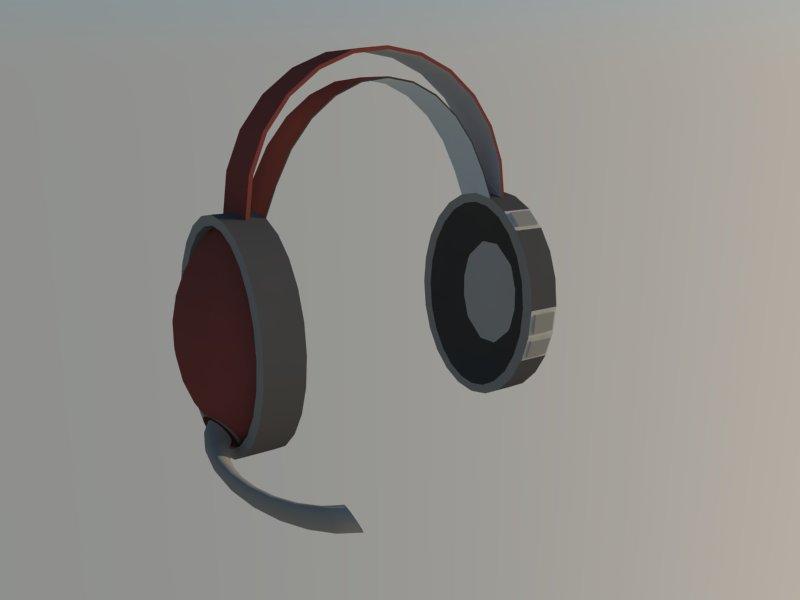 headset 3d model 3ds dxf dwg skp obj 118526