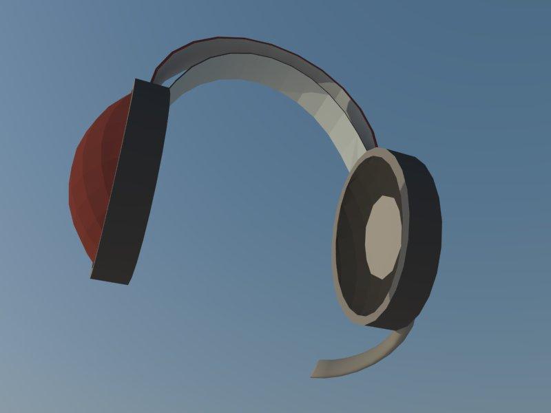 headset 3d model 3ds dxf dwg skp obj 118528