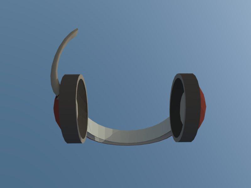 headset 3d model 3ds dxf dwg skp obj 118529