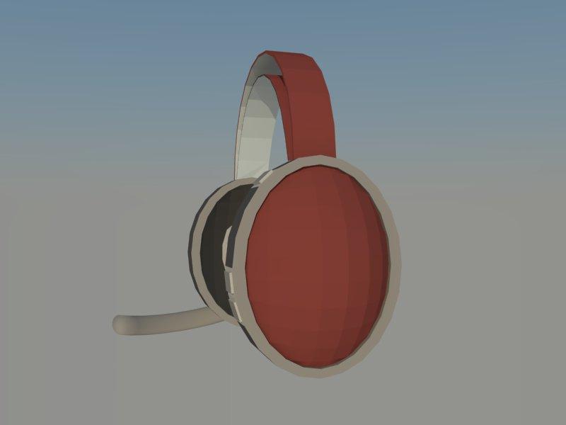 headset 3d model 3ds dxf dwg skp obj 118530