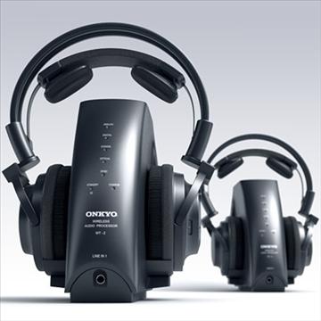 onkyo mhp-a1 wireless headphones 3d model 3ds max fbx obj 81283
