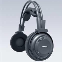 Onkyo MHP-A1 Wireless Headphones ( 50.09KB jpg by hdmotion )