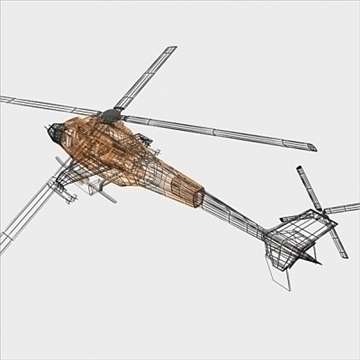 army helicopter 3d model 3ds max fbx blend lwo obj 105126