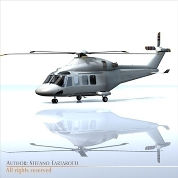 aw-139 model 3d 3ds dxf c4d obj 95624