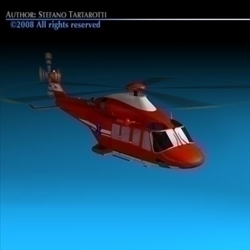 aw-139 air ambulance 3d model 3ds dxf c4d obj 91968