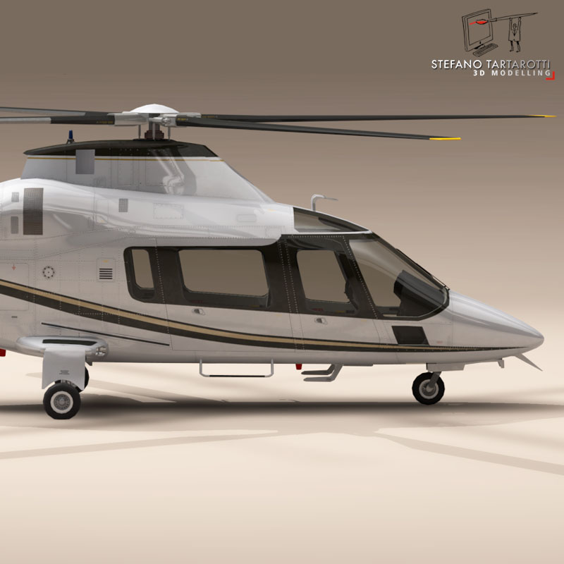 aw109 copter 3d model 3ds dxf fbx c4d dae obj 151518