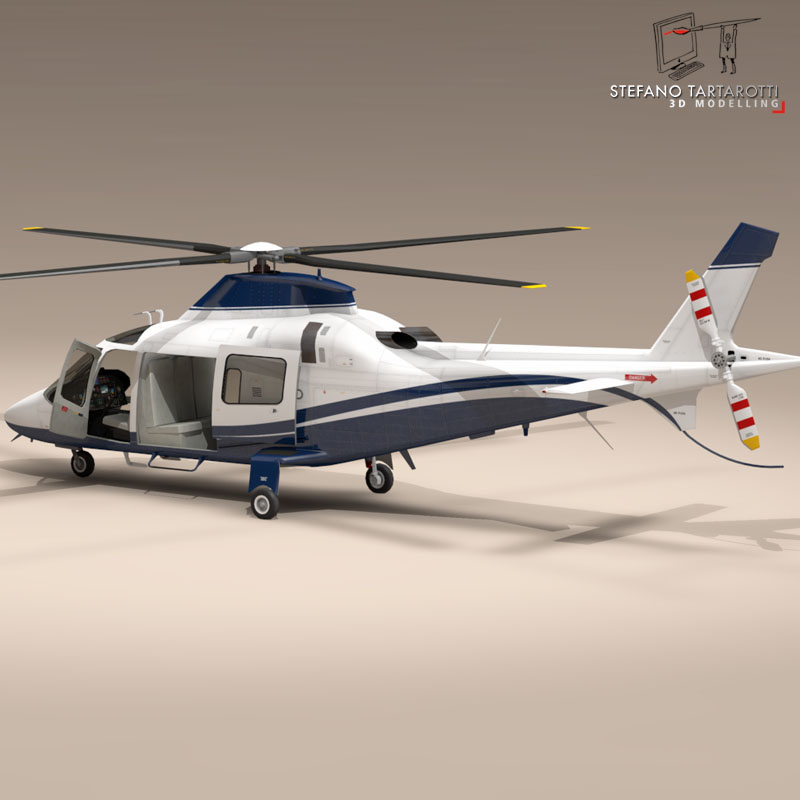 aw109 copter 3d model 3ds dxf fbx c4d dae obj 151521