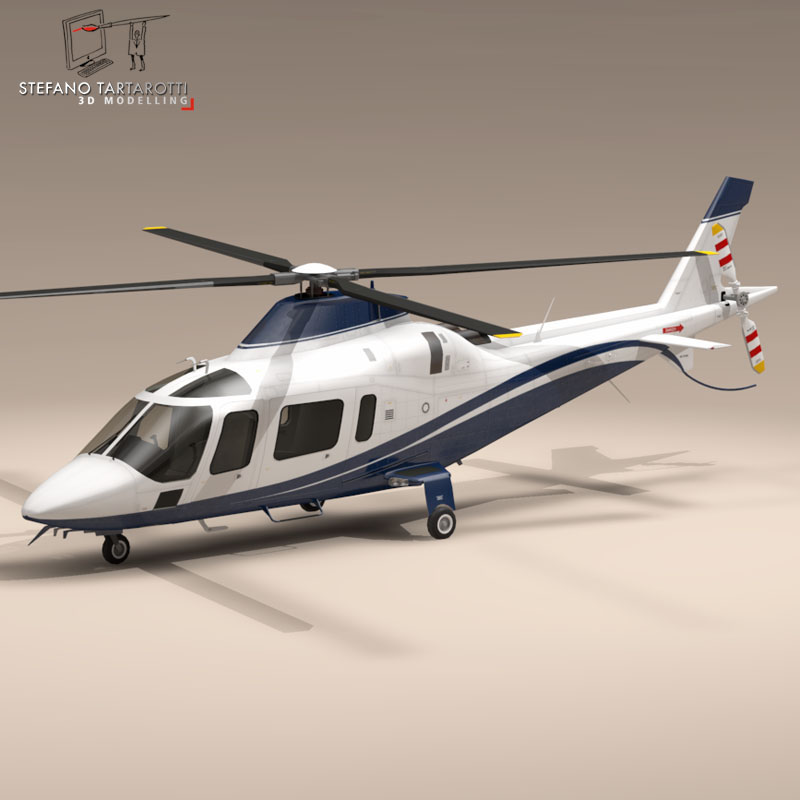 aw109 copter 3d загвар 3ds dxf fbx c4d dae obj 151522
