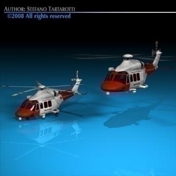 aw139 coastguard 3d model 3ds dxf c4d obj 91981