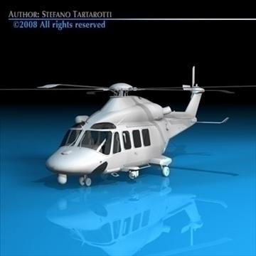 aw139 coastguard 3d model 3ds dxf c4d obj 91985