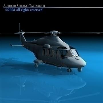 aw139 coastguard 3d model 3ds dxf c4d obj 91987
