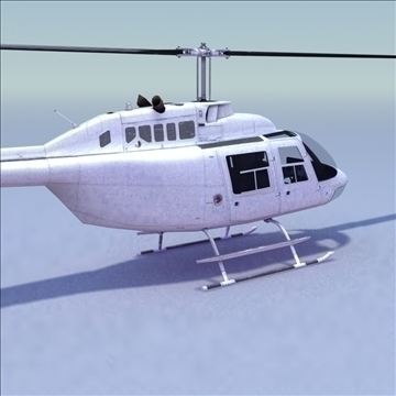 bell 206 jetranger helicopter 3d model 3ds max fbx lwo ma mb other hrc xsi texture obj 111976