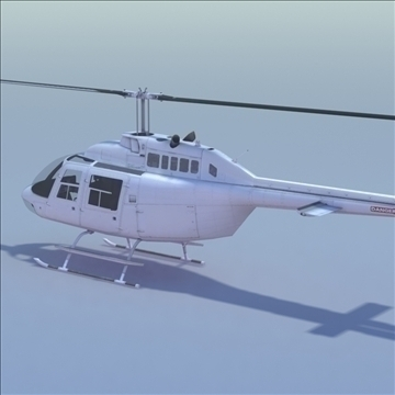 bell 206 jetranger helicopter 3d model 3ds max fbx lwo ma mb other hrc xsi texture obj 111981