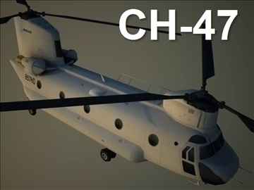 ch 47 chinook 3d modelis max 105802