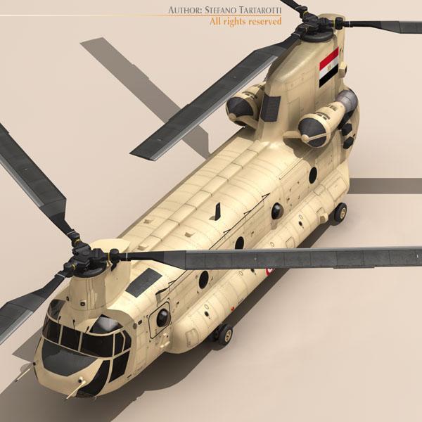 ch-47 eaf helikopters 3d modelis 3ds dxf fbx c4d dae obj 118664