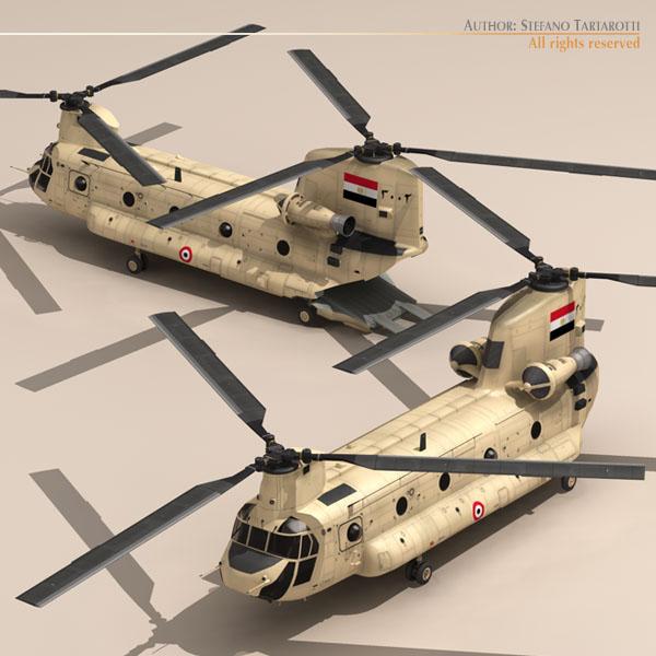 ch-47 eaf helikopters 3d modelis 3ds dxf fbx c4d dae obj 118665