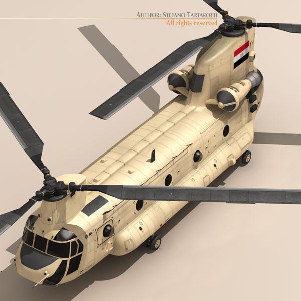 ch-47 eaf helikopters 3d modelis 3ds dxf fbx c4d dae obj 118666