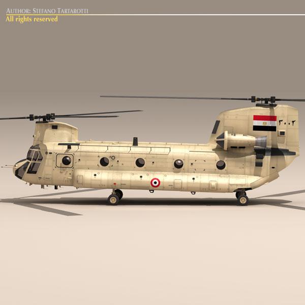 ch-47 eaf helikopters 3d modelis 3ds dxf fbx c4d dae obj 118667