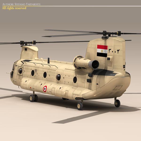 ch-47 eaf helikopters 3d modelis 3ds dxf fbx c4d dae obj 118669