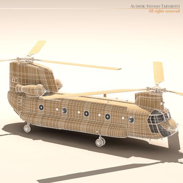 ch-47 eaf helikopters 3d modelis 3ds dxf fbx c4d dae obj 118674