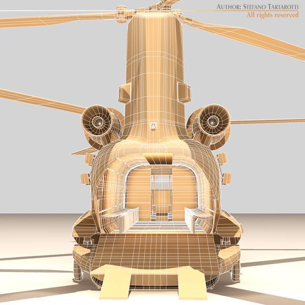ch-47 eaf helikopters 3d modelis 3ds dxf fbx c4d dae obj 118675