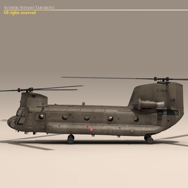 ch-47 escarito italiano vertolyot 3d modeli 3ds dxf fbx c4d dae obj 118593