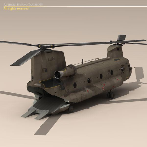 ch-47 esercito Итали нисдэг тэрэг 3d загвар 3ds dxf fbx c4d dae obj 118597