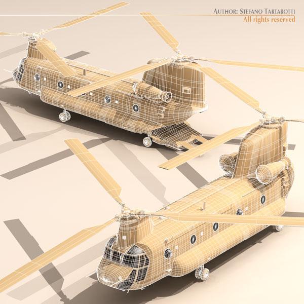 ch-47 escarito italiano vertolyot 3d modeli 3ds dxf fbx c4d dae obj 118601